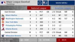 MLB Manager 2015 active screenshot 3/6