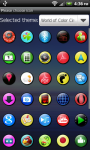 Colorful Circles theme Go Launcher EX screenshot 3/6