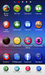 Colorful Circles theme Go Launcher EX screenshot 4/6