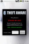 Theft Aware screenshot 5/6