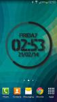 eXtreme Clock Live Wallpaper screenshot 1/6