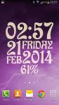 eXtreme Clock Live Wallpaper screenshot 2/6