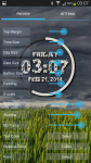 eXtreme Clock Live Wallpaper screenshot 5/6