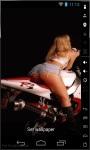 Hot Babes and Bikes Live Wallpaper screenshot 3/3