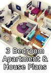 3 Bedroom Apartment/House Plans screenshot 1/6