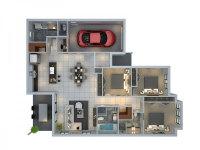 3 Bedroom Apartment/House Plans screenshot 2/6