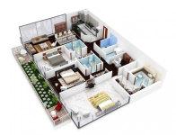 3 Bedroom Apartment/House Plans screenshot 5/6