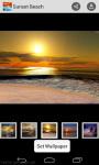 Wallpaper Sunset Beach screenshot 1/4