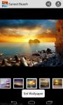 Wallpaper Sunset Beach screenshot 2/4