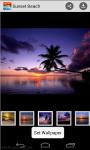 Wallpaper Sunset Beach screenshot 4/4