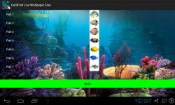 Goldfish Live Wallpapers Free screenshot 3/4