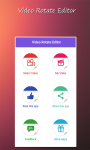 Video Rotate Editor screenshot 1/4