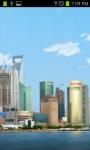 Shanghai Skyline HD Live Wallpaper Free screenshot 2/2
