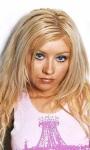 Live wallpapers Christina Aguilera screenshot 3/3