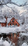Winter Home Live Wallpaper screenshot 1/3