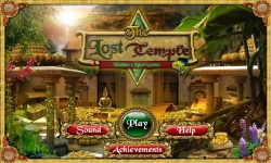 Free Hidden Object Game - The Lost Temple screenshot 1/4