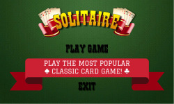 Classic Solitaire Game screenshot 1/4