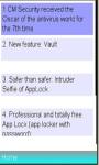 CM Security Antivirus AppLock Info screenshot 1/1