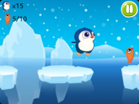Jumping Penguin - Funny Ice Fishing screenshot 3/3