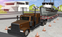 Euro Truck Real Cargo parking screenshot 1/4