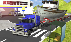 Euro Truck Real Cargo parking screenshot 2/4