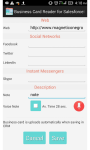 Business Card Reader for SalesforceIQ CRM screenshot 6/6