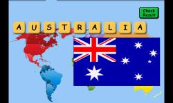 Flags Scrabble screenshot 3/5