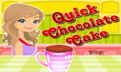 Quick Chocolate Cake screenshot 1/4