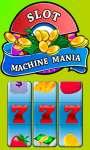 Slot Machine Mania - Free screenshot 1/5