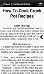 Crock Pot Recipes screenshot 2/6