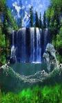 Amaging Waterfall Live Wallpaper screenshot 1/3
