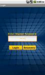 Master Password FREE screenshot 1/5