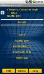 Master Password FREE screenshot 5/5