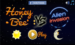 Honey Bee vs Alien Invasion screenshot 1/3
