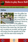 Rules to play Bocce Ball screenshot 3/3
