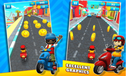 Pizza delivery boy street - New subway screenshot 1/2