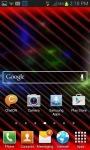 Rainbow Screen Live Wallpaper screenshot 3/3