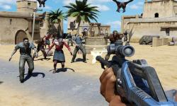 Gunner Trigger zombie Battle screenshot 2/4