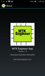 MTK Engineer App screenshot 4/4