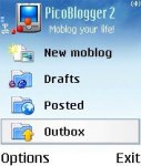 Picoblogger screenshot 1/1