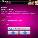 FreePlay Food Quiz Lite screenshot 2/2