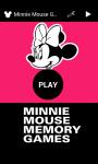 Minnie Mouse Memory Games  screenshot 1/6