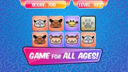 Brain Memory Game - Animals screenshot 1/5