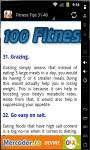 100 Fitness Tips 2014 screenshot 2/3