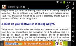 100 Fitness Tips 2014 screenshot 3/3