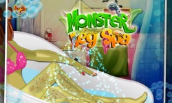 Monster Leg Spa - Girls Game screenshot 2/5