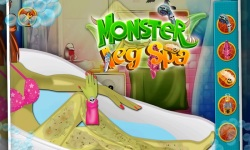 Monster Leg Spa - Girls Game screenshot 5/5