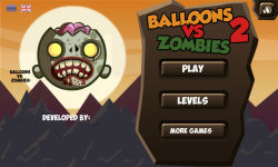 Balloons VS Zombies 2  screenshot 1/6