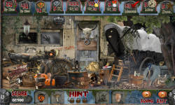 Free Hidden Object Games - Haunted Nights screenshot 3/4