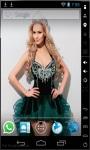 Blonde Beauty Queen Live Wallpaper screenshot 1/2